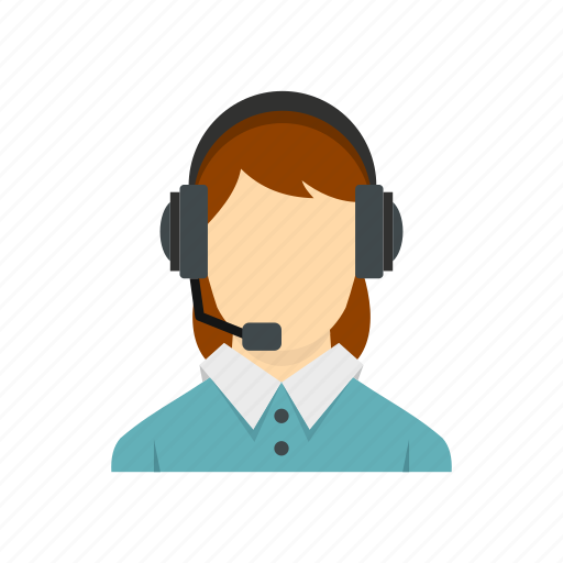 call, customer, headset, helpdesk, operator, service, woman icon