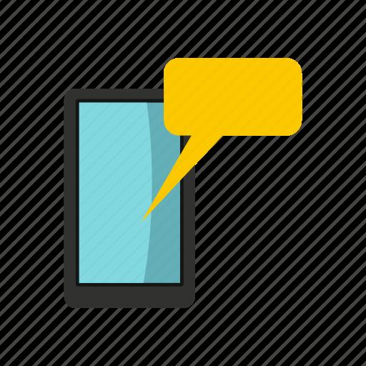bubble, chat, communication, information, line, phone, speak icon