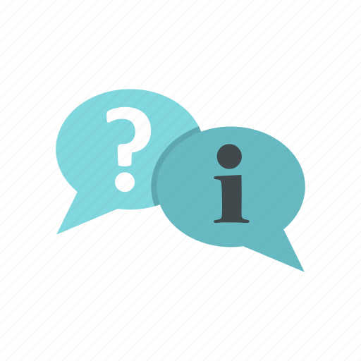 answer, bubble, exclamation, idea, mark, question, speech icon