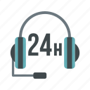 call, headphone, headset, microphone, phone, speaker, support icon