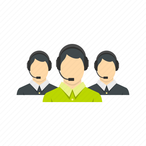 business, communication, headset, office, operator, service, support icon