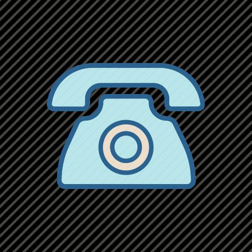 call, center, line, phone, telephone, thin icon