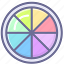 colors, effects, exposure icon