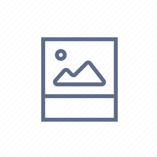 file, folder, image, photo, photography, picture, snapshot icon