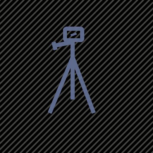 holder, photograph, support, tripod, trivet icon