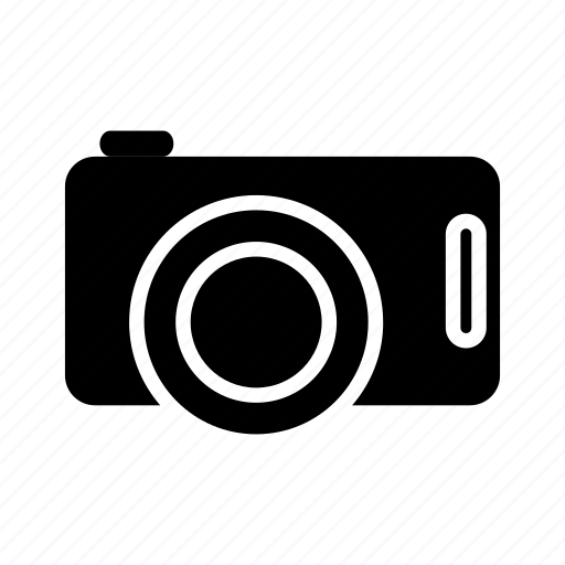 Camera, digital, dslr, photo, photography, potrait, solid icon - Download on Iconfinder