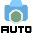 auto shotting, camera, shotting icon