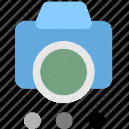 camera, camera options, shotting icon