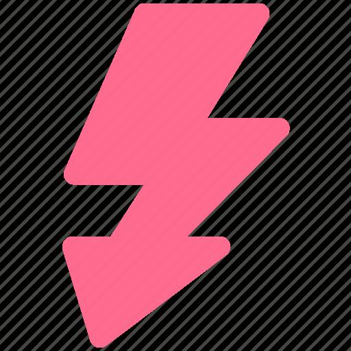 digital, flash icon