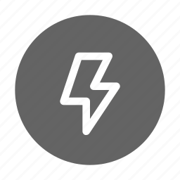 camera, flash, lightning icon