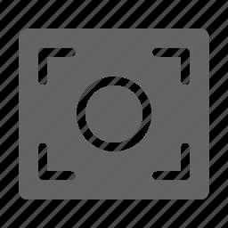 camera, capture, focus icon