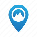 gps, location, map, navigation, pin, place, sign icon
