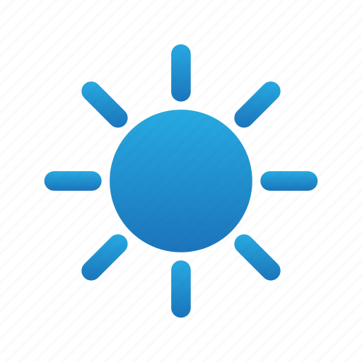 brightes, day, light, sun, weather icon