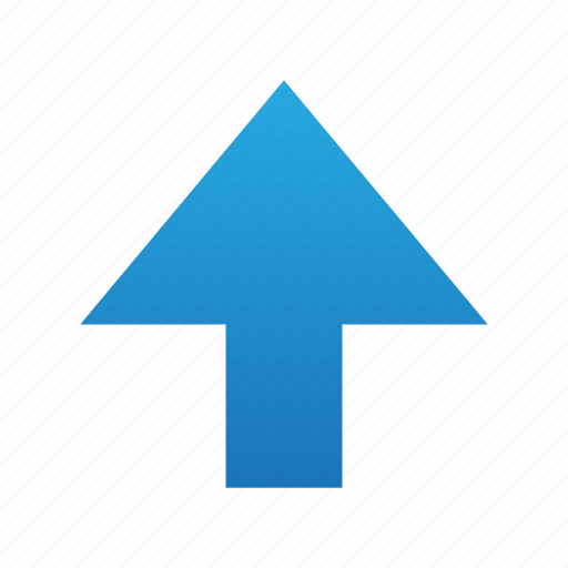 arrow, direction, file, sign, up, upload icon
