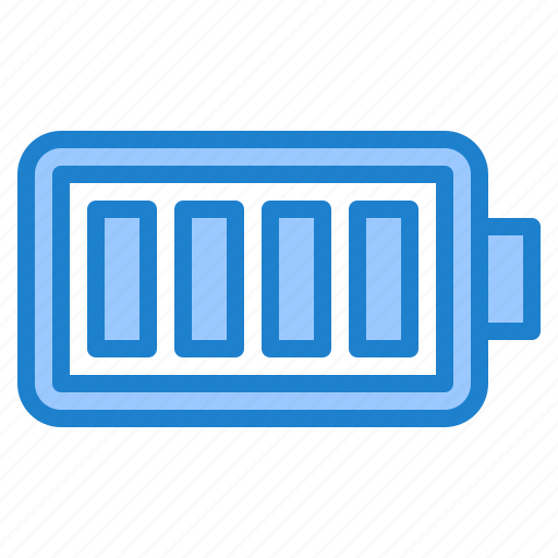 Battery, power, energy, full, electric icon - Download on Iconfinder