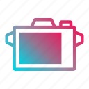 camera interface, device, interface, media, photo, photography, picture icon