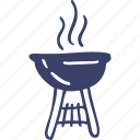 barbecue, camping, food, grill, kitchen icon