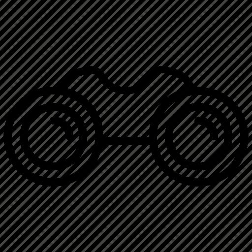 binocular, explorer, looking, search, vision icon