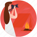 nature pictures, person taking pictures, photographer, photography, picture capturing icon
