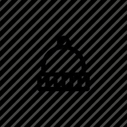 beanie, camp icon