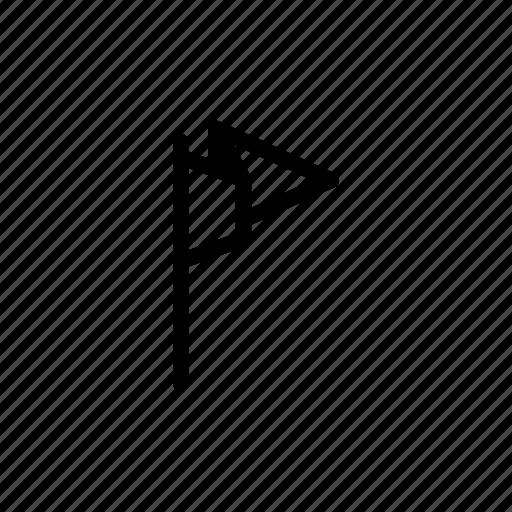 camp, flag icon