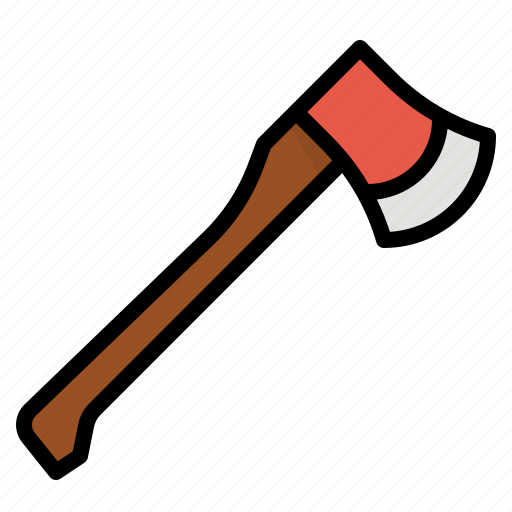 axe, camping, hatchet, tool, weapon icon