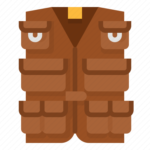 Download Activity Fishing Outdoor Vest Wear Icon Download On Iconfinder