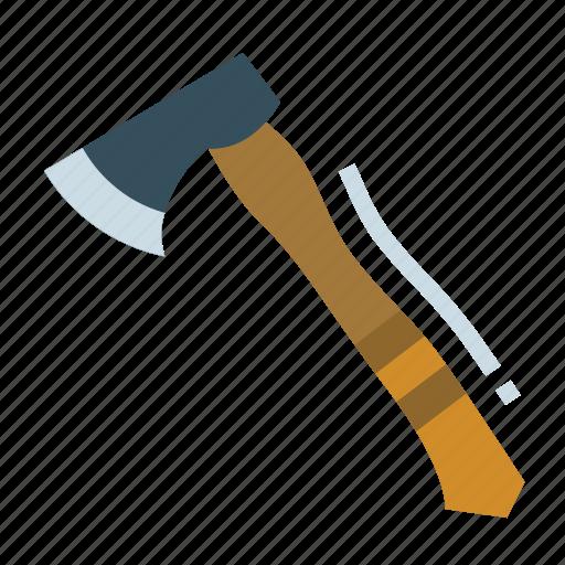 axe, camping, carpenter, hatchet, tool icon