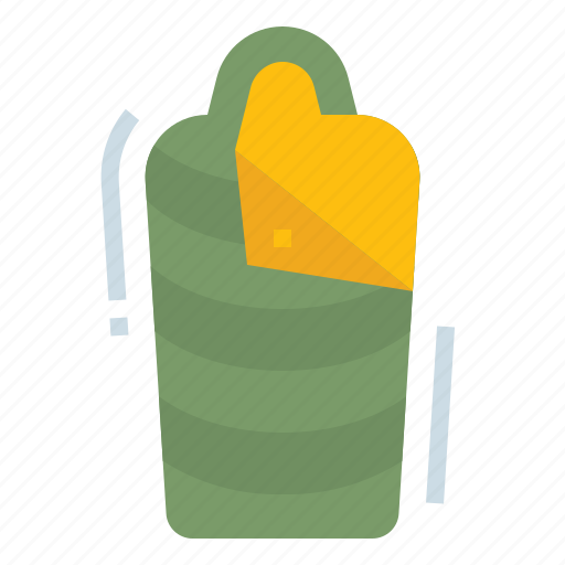accessories, bag, camp, camping, sleeping icon