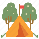 camp, camping, lifestyle, tent, travel, wigwam icon