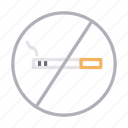 banned, block, cigarette, notallowed, stop icon