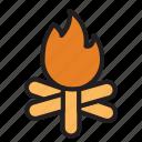 adventure, burn, camping, fire, travel