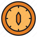 adventure, camping, compas, direction, hiking, travel icon