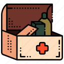 aid, camping, first aid, medical icon