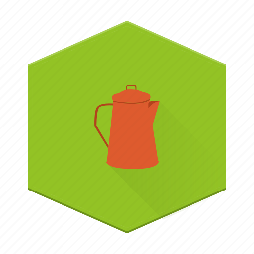 boards, camping, individular, kettle, teapot icon