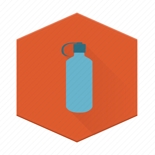 boards, camping, individular, nalgene, water bottle icon