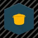 boards, camping, cooking, individular, kitchen, pot icon
