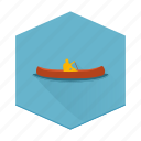 boards, camping, canoe, individular, outdoor sports, sports, water icon