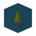 boards, camping, forest, individular, tree icon