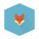 animal, boards, fox, individular icon