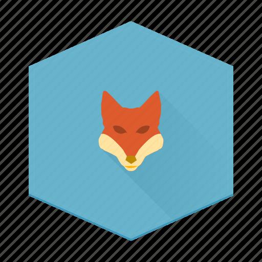 animal, boards, fox, individular icon