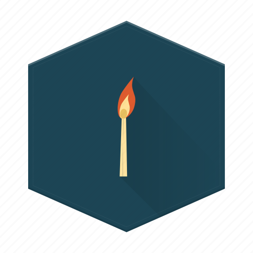 Boards, camping, fire, individular, match icon - Download on Iconfinder