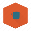 boards, camping, coffee, cup, individular, mug icon