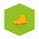 boards, boot, clothing, hiking, individular, shoe icon