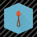 tool, shovel, individular, boards, dig