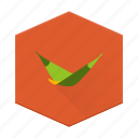 boards, camping, hammock, individular, nap, outside, relax icon