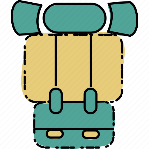 adventure, camp, camping, nature, rucksack icon