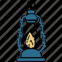 lamp, camp, camping, oil