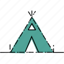 adventure, camp, camping, nature, survival icon