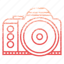 adventure, camera, camping, device, equipment, multimedia, photography icon